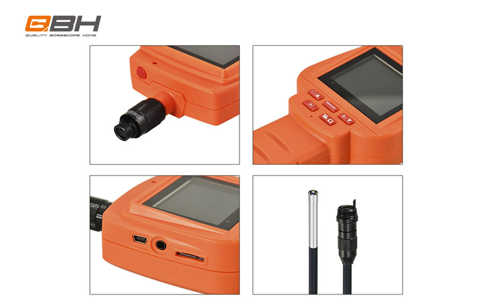 Handheld Pipeline 2.4inch Monitor Pipe Inspection Camera Camera