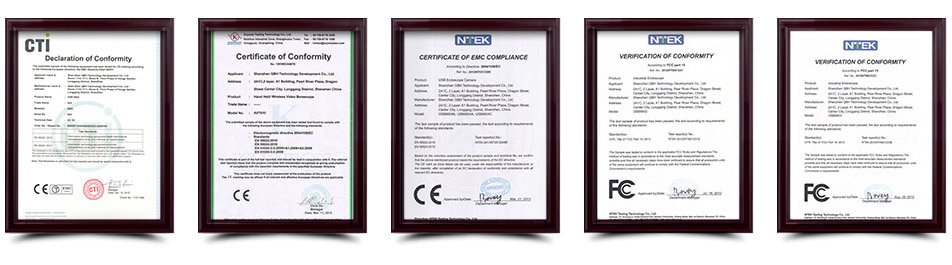 borescope certifications